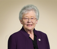 Hon. Kay Ivey, Governor  Ex Officio & Chair